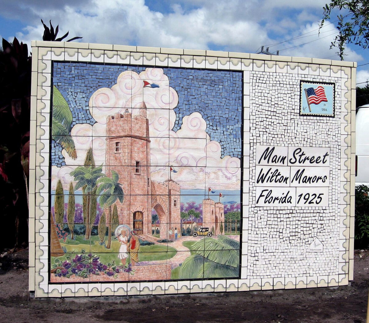 Wilton Manors Postcard Mosaic
